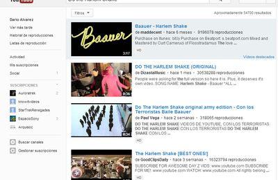 """Escribe """"Do the Harlem Shake"""" en la casilla de búsqueda de YouTube"""