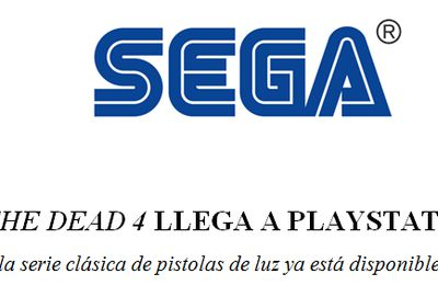 The House of the Dead 4 llega a Playstation® Network (Nota de Prensa recibida)