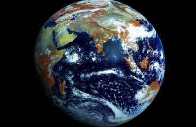 La 'imagen definitiva' de nuestro hogar cósmico: Capturada por un satélite ruso, el Elektro-L