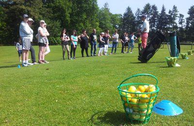 Une journée initiation golf sous le soleil!