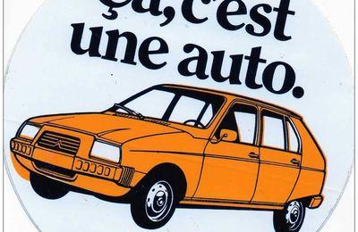 Galería de publicidad del Citroën Visa