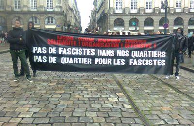 Retour sur les manifs de samedi : Rennes