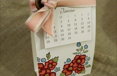 Calendriers avec Stampin'Up!