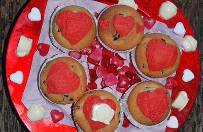 Bonito y sencillo centro comestible para San Valentín