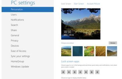 Windows 8 en images