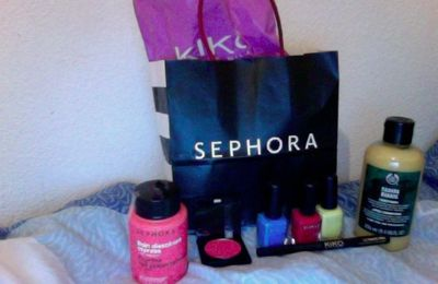 Craquage Sephora, The Body Shop et Kiko !
