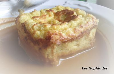 "Quenelles de poisson ""version cake"""
