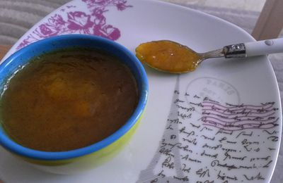 Confiture mangue-vanille (thermomix)