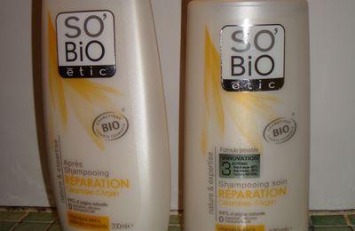 Les produits cheveux So' Bio