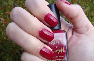 Barry M - Le rouge