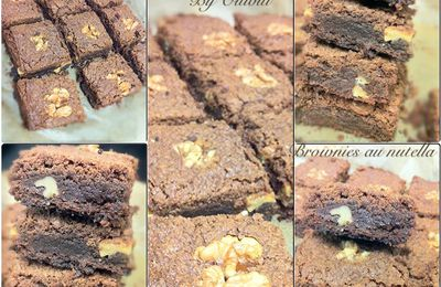 Brownies Nutella/ noix