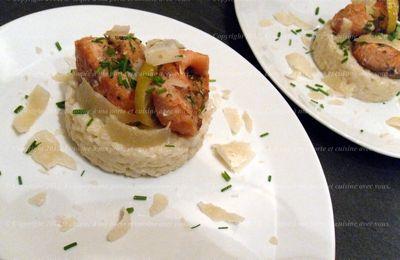Risotto à l'huile de truffe blanche d'Alba