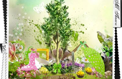 Easter Magical BY MONTESSISSI