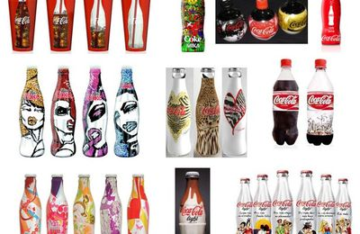 Best of des packagings originaux de Coca Cola