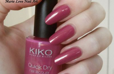 Kiko - Pearly watermelon pink 808