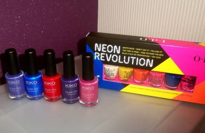 Mes achats, mes vernis !