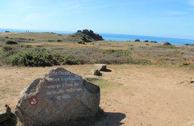 La pierre tremblante à l'Ile d'Yeu (85)