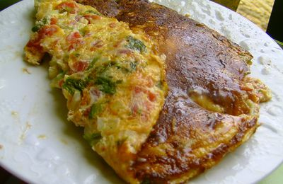 omelette à Papa