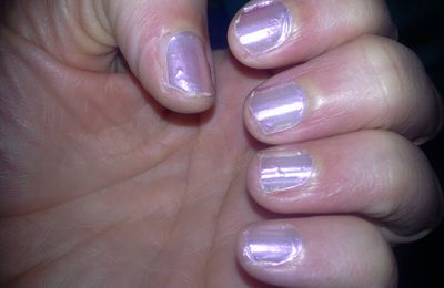 Nail patch Sephora n° 04 Perfect pearl