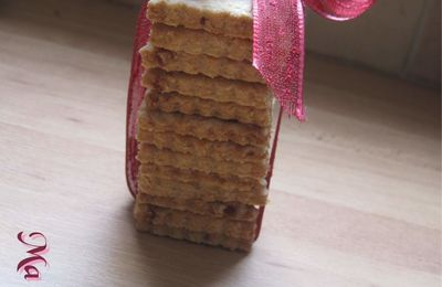Biscuit fraise/cannelle