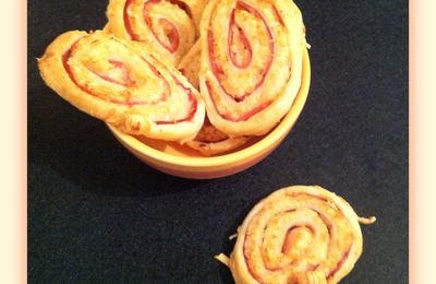 Palmiers jambon/fromage