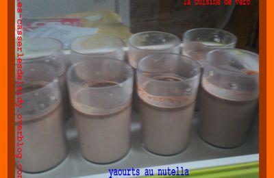 yaourts (au nutella)