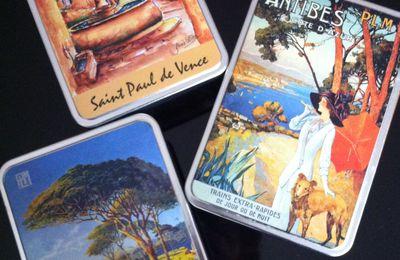 Un jour, un objet : des boites métal de la Côte d'Azur