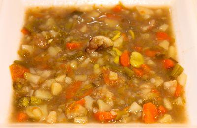 """Soupe de Légumes """"Mirepoix"""""""