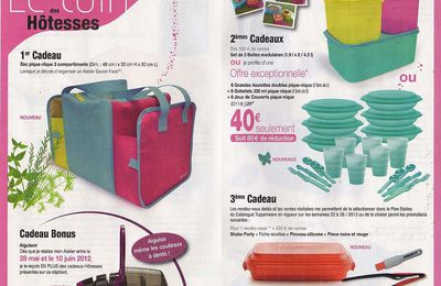 Promotions Tupperware Juin 2012