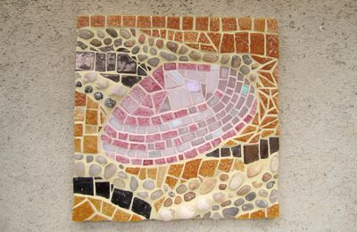 Mosaïque plage & coquillages...