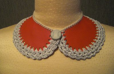 Collier Claudine cuir 120