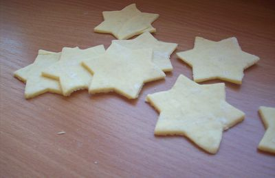 Petits crackers au fromage