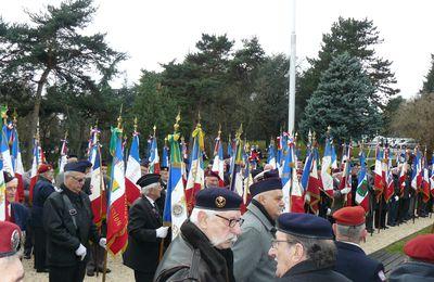 Commémoration Morts pour la France le 5 décembre 2012 à Bron Parilly