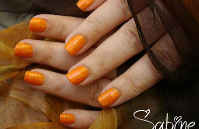 Challenge : 2ème sem. - Swatch Orange...