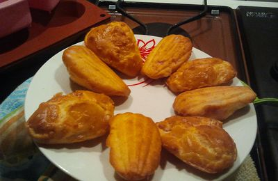 madeleines jambon fromage