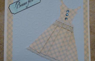 Une carte robe
