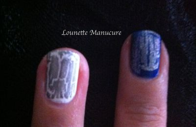 Comment Mettre Un Vernis Craquelé / How To Put A Cracked Nail Polish