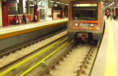 Instantanés ferroviaires - le métro en images éphémères