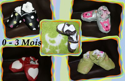 * Chaussons * Collection Hiver 2011