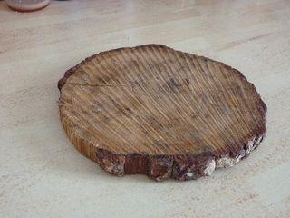 Simple détournement d'objet : un dessous de plat en bois