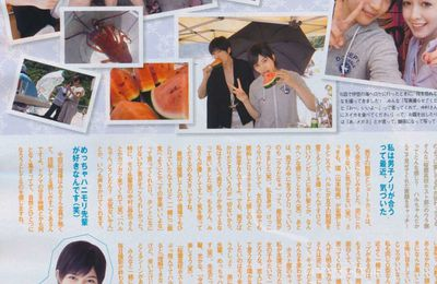 Scans Ouran Koukou Host Club : Junon septembre 2011
