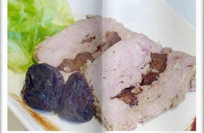 Terrine de chevreuil aux pruneaux