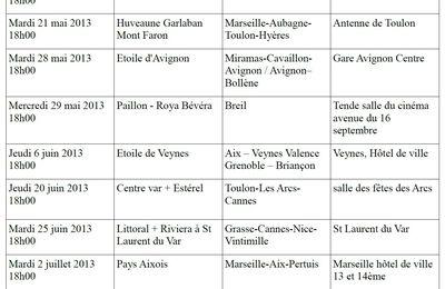 Tableau prévisionnel des comités de ligne TER / LER à partir du 15 mai ...