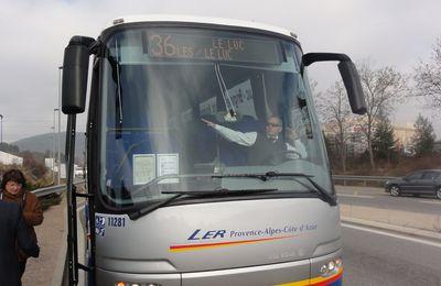 Réorganisation de l'offre des lignes régionales de transports routiers de voyageurs...
