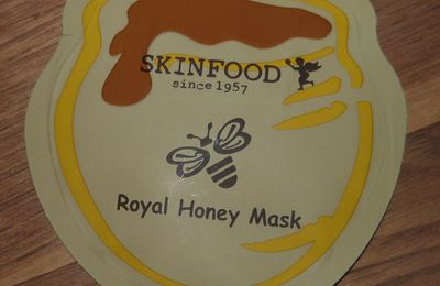 1mois 1échantillon: Royal Honey Mask