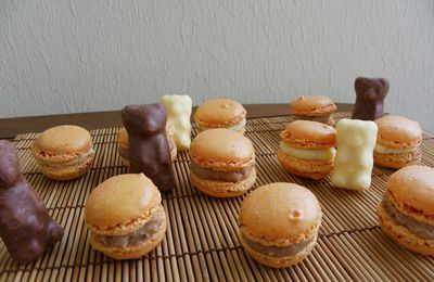Macarons aux Oursons