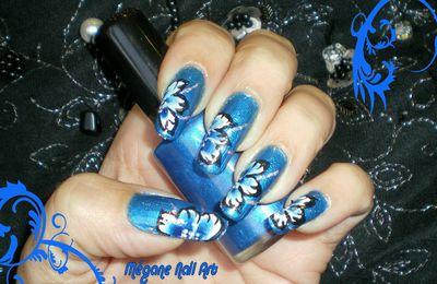 Fleurs Russes Bleues
