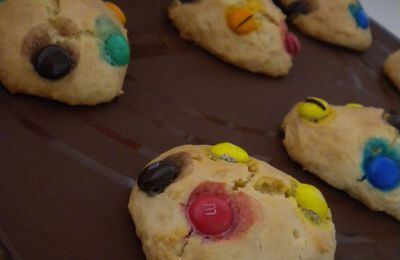 Cookies Monster aux Smarties