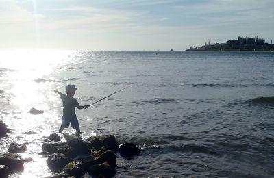 Timon : 1er coup de pêche !