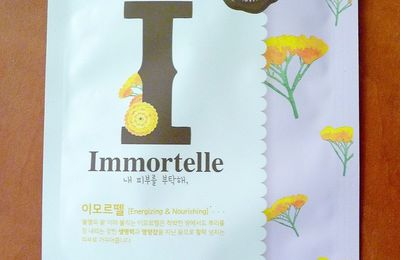 [ETUDE HOUSE] I need you Immortelle ! Mask Sheet